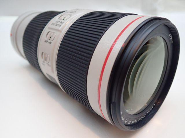 美品 CANON EF70-200mm F4L IS II USM キャノン 中望遠ズームレンズ 元箱・ソフトケース・取説付 ∂ 5ED6B-3_画像2