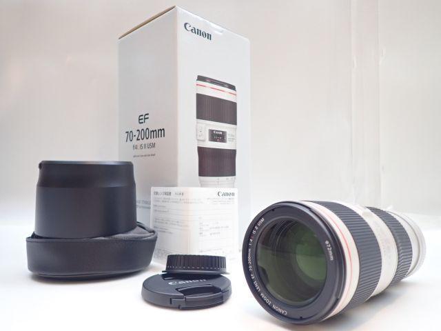 美品 CANON EF70-200mm F4L IS II USM キャノン 中望遠ズームレンズ 元箱・ソフトケース・取説付 ∂ 5ED6B-3_画像1