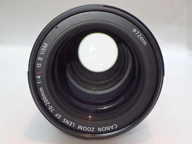 美品 CANON EF70-200mm F4L IS II USM キャノン 中望遠ズームレンズ 元箱・ソフトケース・取説付 ∂ 5ED6B-3_画像3