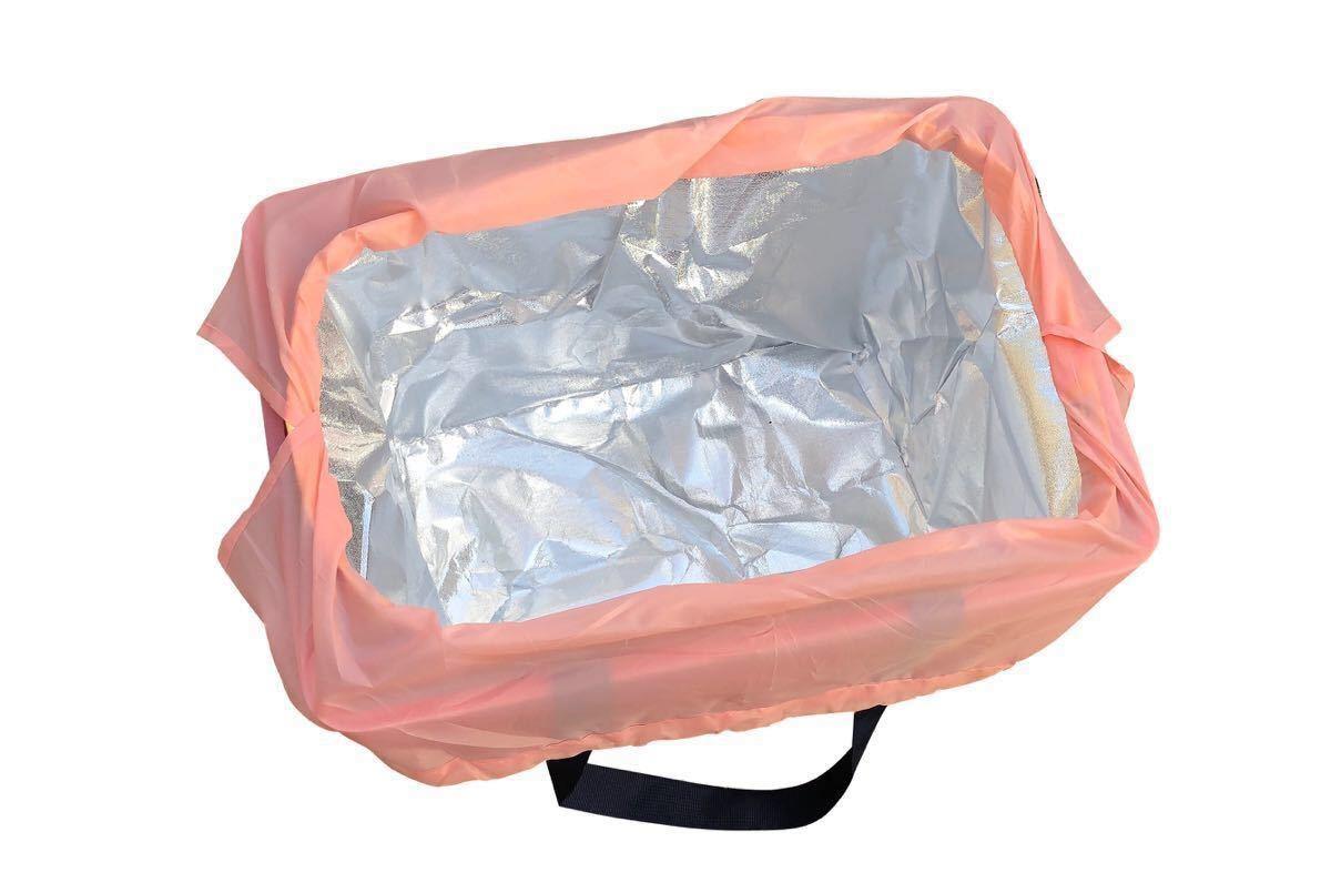 新品!買い物かごバッグ レジカゴバッグ 保冷 保温 エコバッグ 2点セット 値下げ