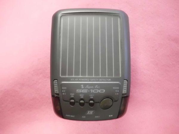ユピテル Super Cat レーダー探知機 SE-100_画像1