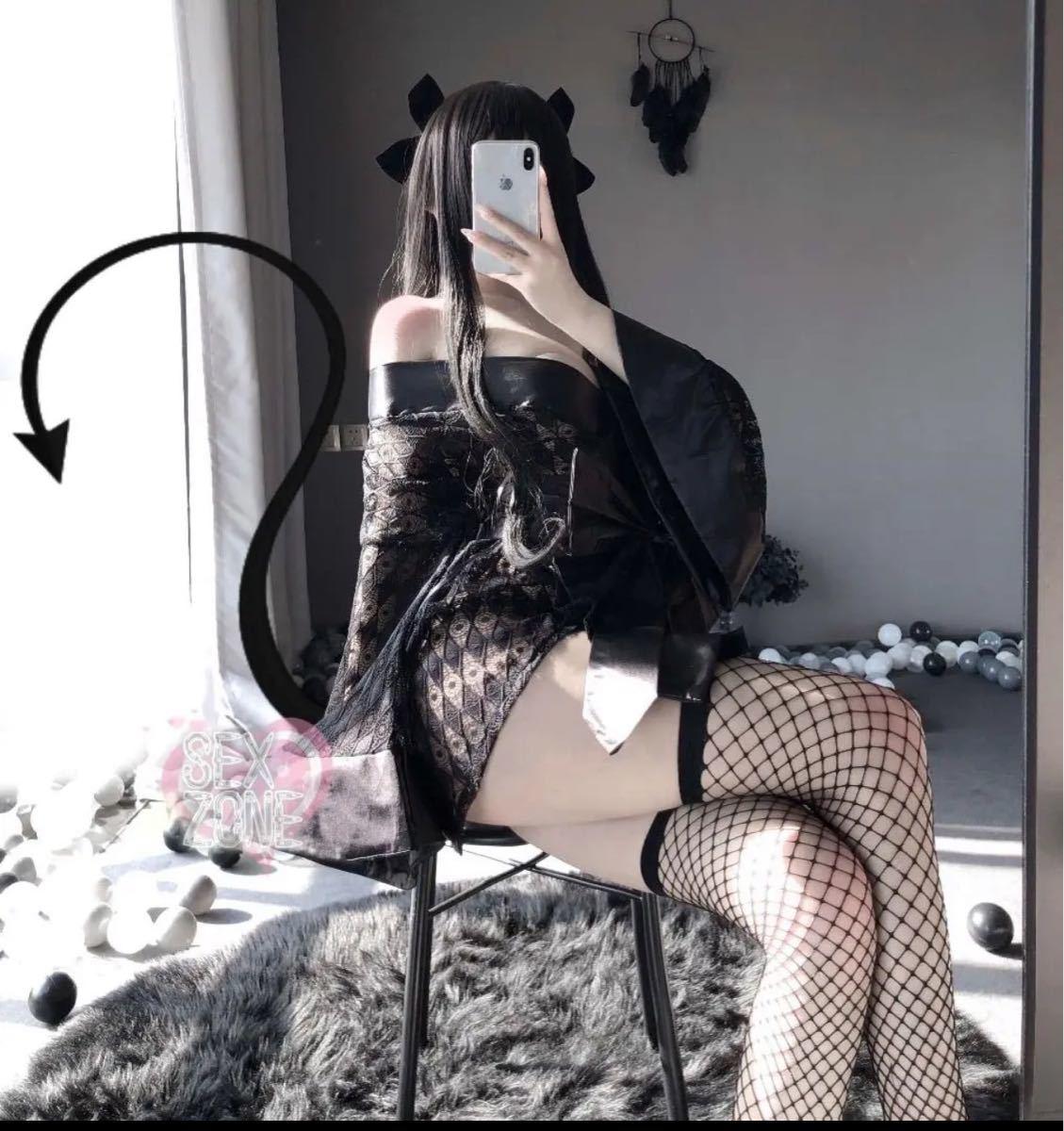 セクシー下着 コスプレ セクシー浴衣 超可愛いランジェリーセット