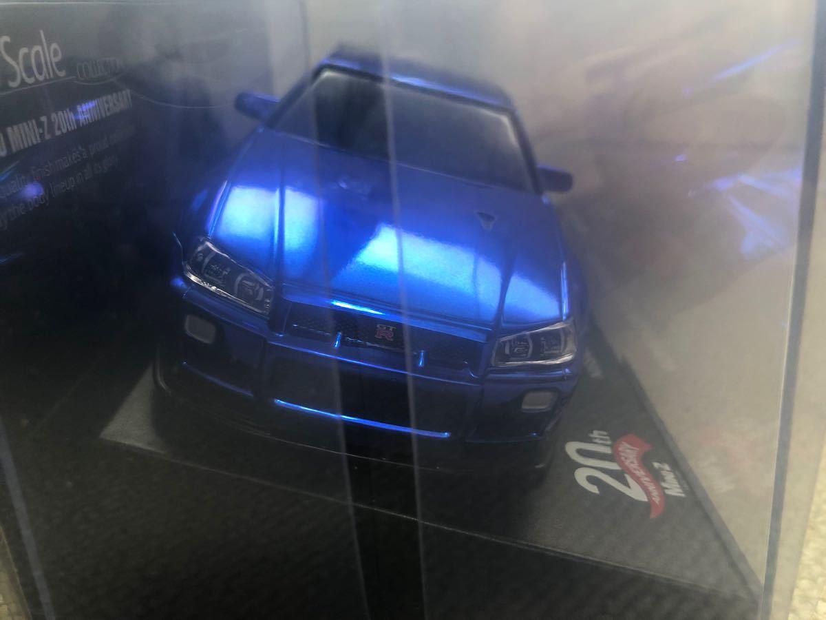 【新品未開封】京商ミニッツ 日産スカイライン GT-R R34 ミニッツ20周年記念モデル