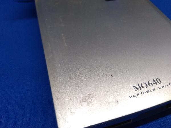 ジャンク 現状品 MOドライブ MO640_画像6
