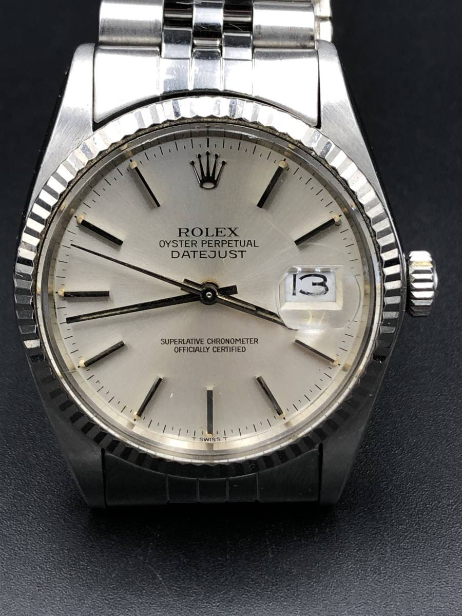 腕時計 ROLEX ロレックス デイトジャスト 16014 メンズ自動巻き ie1211