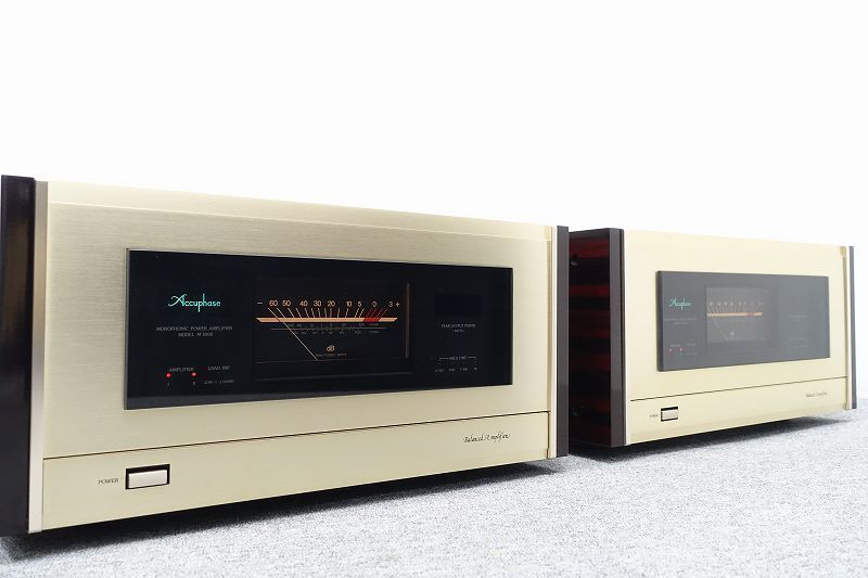 ■□Accuphase M-1000 モノラルパワーアンプ アキュフェーズ□■007281003W-2□■