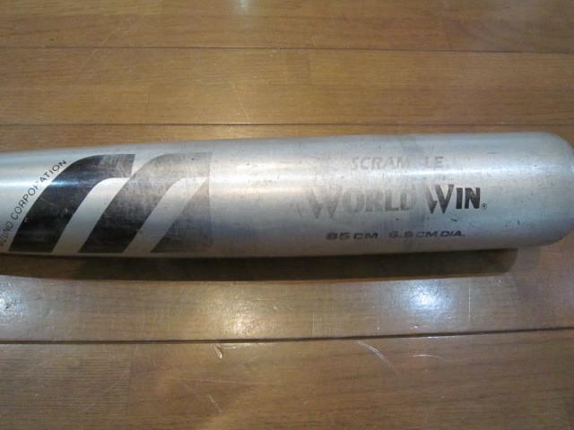 MIZUNO WORLD WIN ミズノ ワールドウイン 硬式用11450 HIJG 硬式用バット 金属バット_画像4