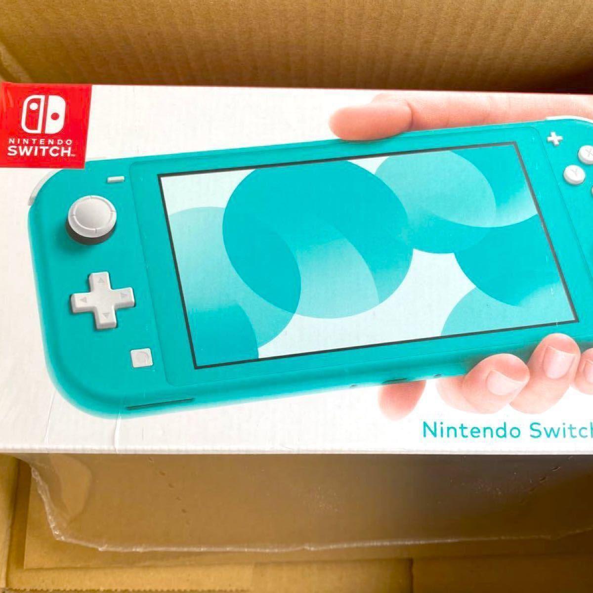 さらに1000円引き 早い者勝ち 【新品未開封】 Nintendo Switch Lite ターコイズ