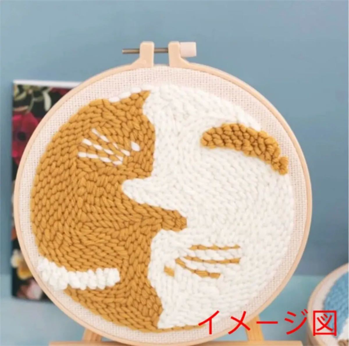 刺繍 ニードル パンチ