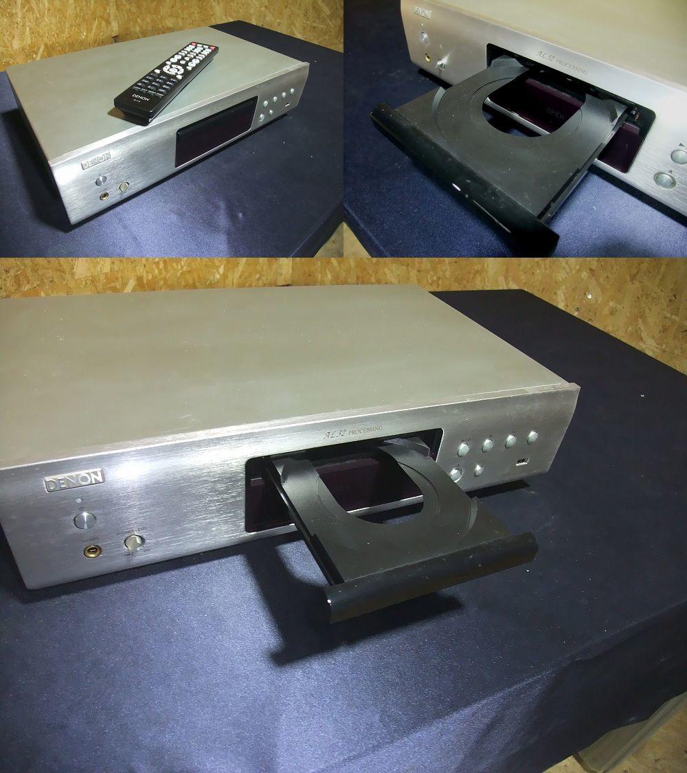動作確認済み★デノン DENON リモコン付き 32bit DACを搭載したCDプレーヤー DCD-755RE★_画像2