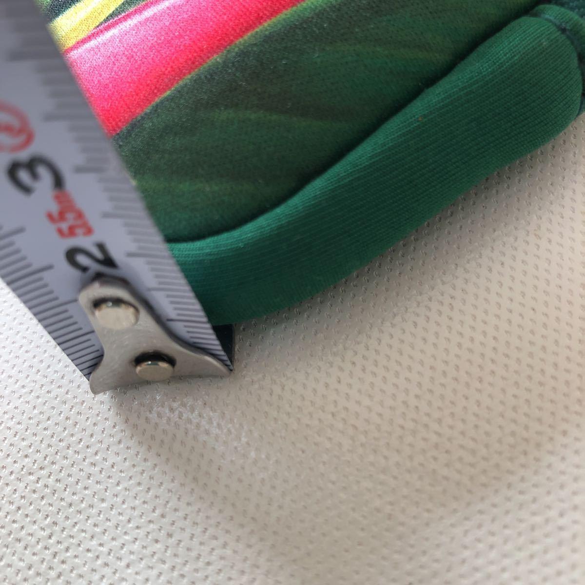 オーストラリア お土産 小物入れ ミニポーチ ポーチ ファスナーポーチ 小銭入れ グリーン 爬虫類_画像6
