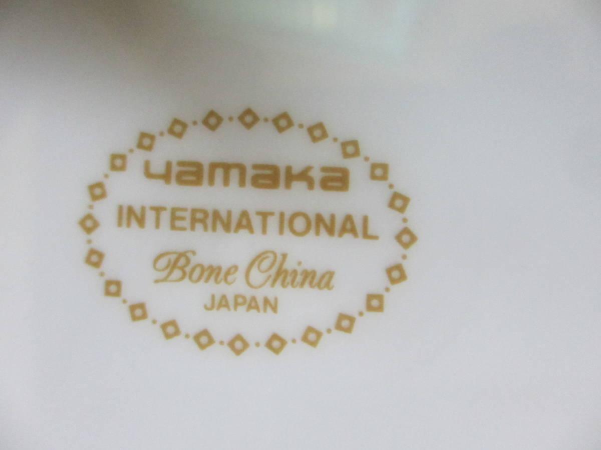 YAMAKA ヤマカ  ボーンチャイナ デザートプ&ケーキプレート デザート&ケーキ皿 17㎝ 6枚   _画像6