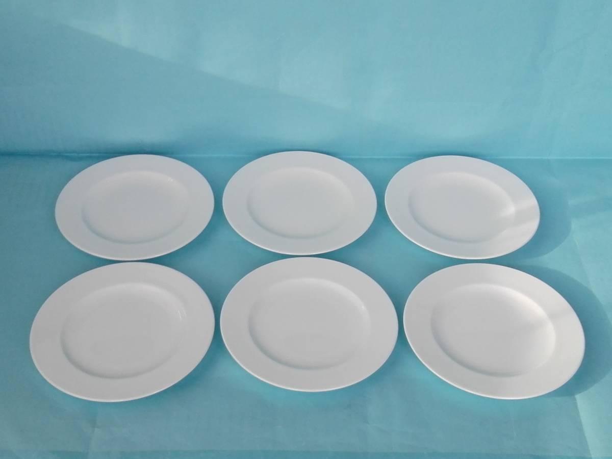 YAMAKA ヤマカ  ボーンチャイナ デザートプ&ケーキプレート デザート&ケーキ皿 17㎝ 6枚   _画像1