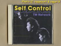 ★即決★ TM Network (TMネットワーク) / Self Control -- 1987年発表、4枚目アルバム_画像1