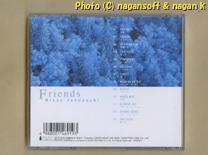 ★即決★ Missa Jphnouchi (城之内ミサ) / Friends -- 2000年発売アルバム。TBS系ドラマ「FRIENDS」サントラ盤。音楽は城之内ミサが担当_画像2