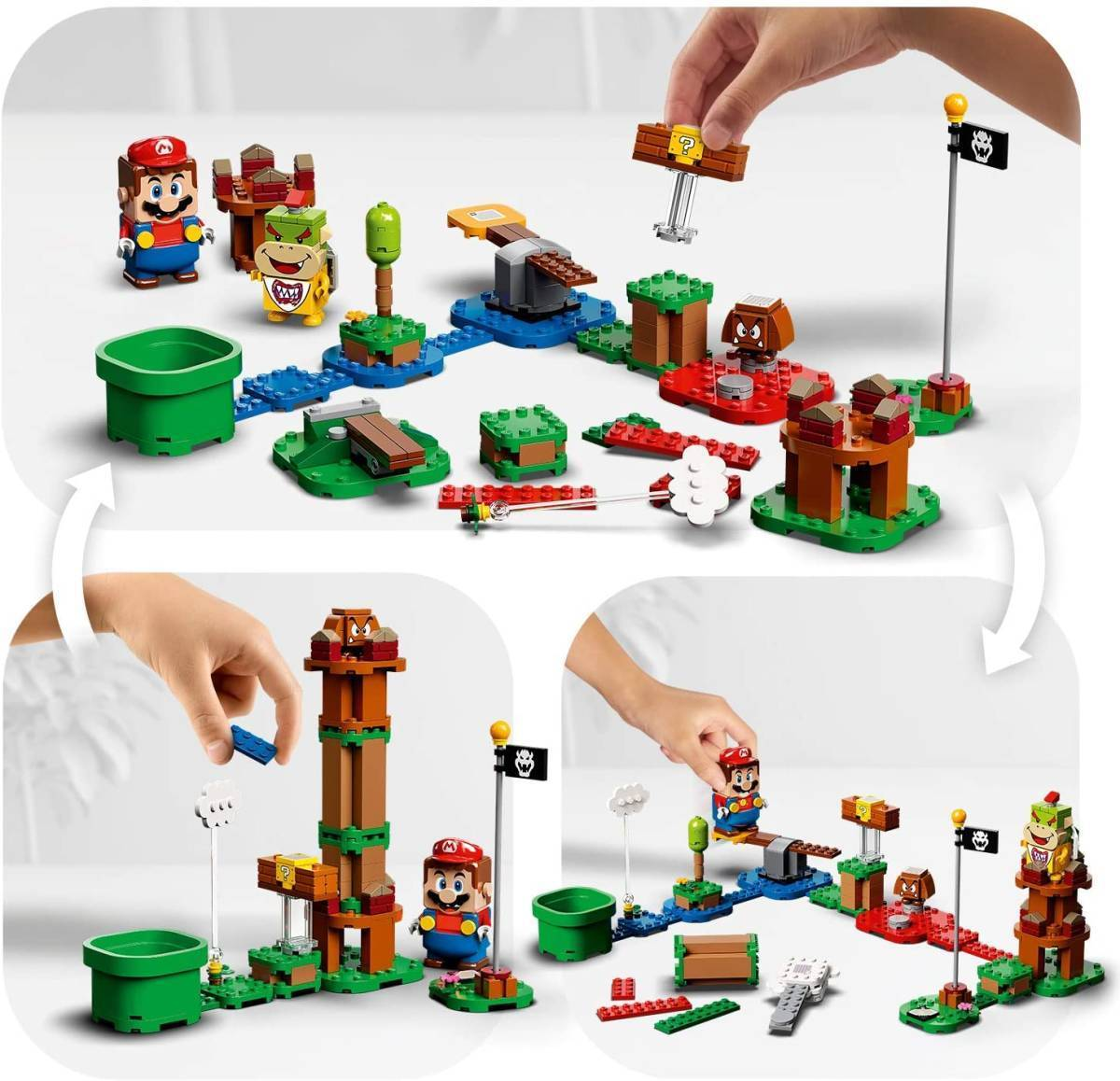 レゴ スーパーマリオ 71360 レゴ(R)マリオ と ぼうけんのはじまり ~ スターターセット LEGO Super Mario_画像5