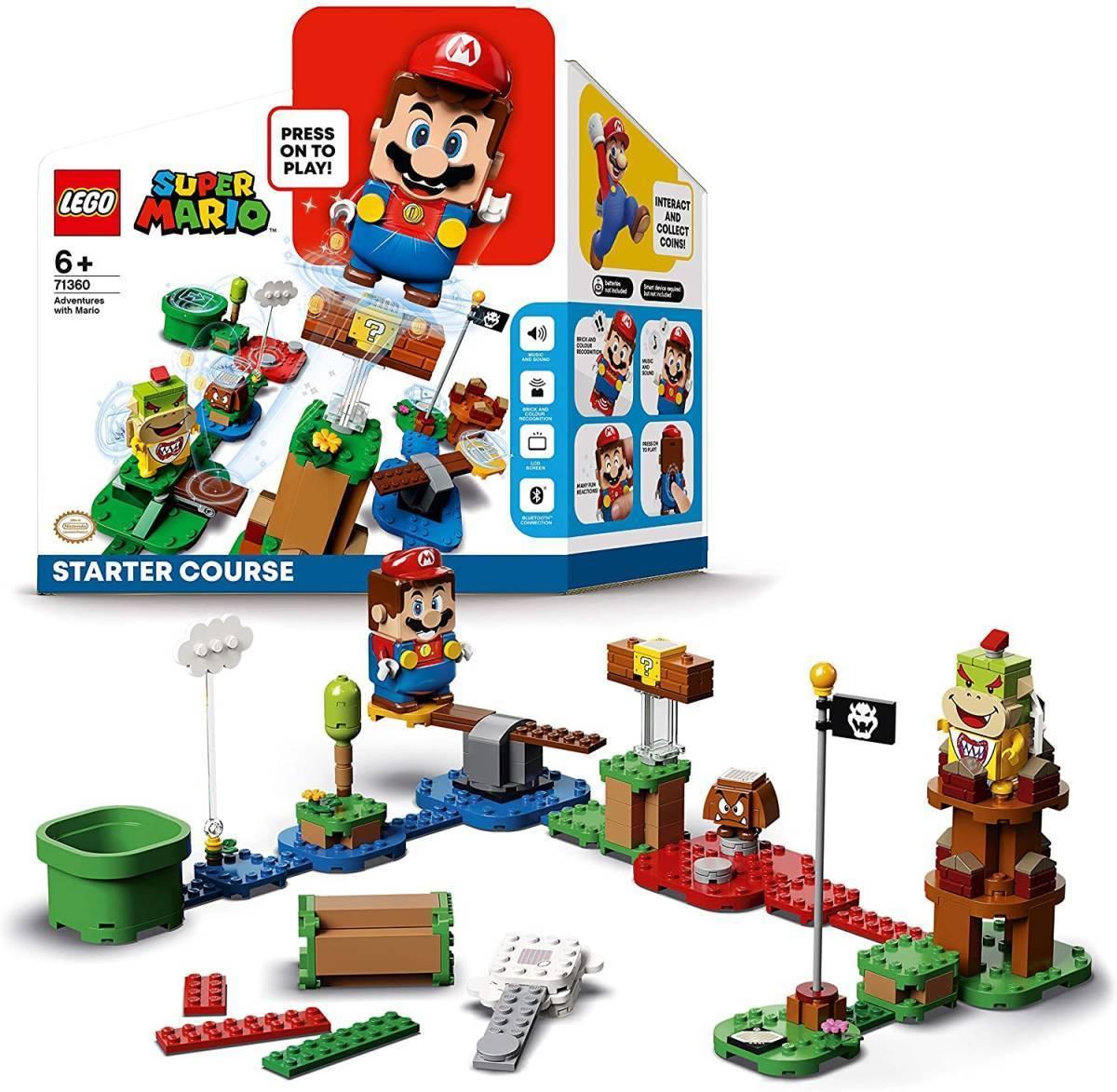 レゴ スーパーマリオ 71360 レゴ(R)マリオ と ぼうけんのはじまり ~ スターターセット LEGO Super Mario_画像1