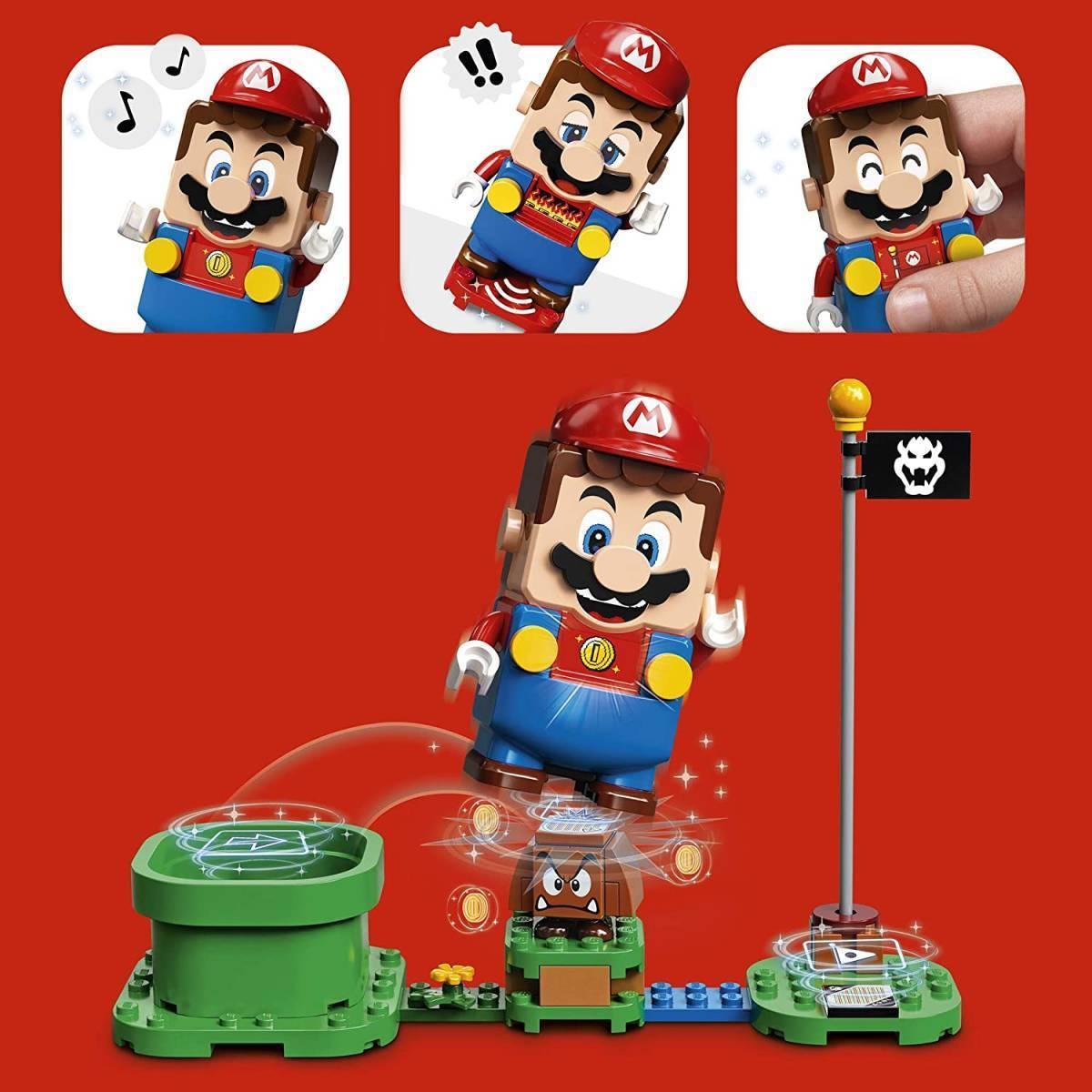 レゴ スーパーマリオ 71360 レゴ(R)マリオ と ぼうけんのはじまり ~ スターターセット LEGO Super Mario_画像4
