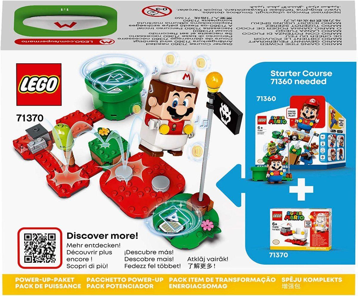 レゴ スーパーマリオ 71370 ファイアマリオ パワーアップ パック LEGO Super Mario_画像8