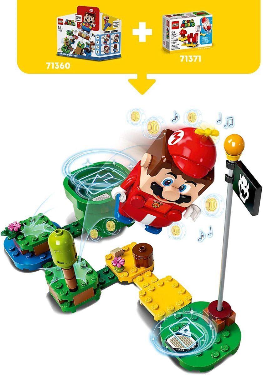 レゴ スーパーマリオ 71371 プロペラマリオ パワーアップ パック LEGO Super Mario_画像4