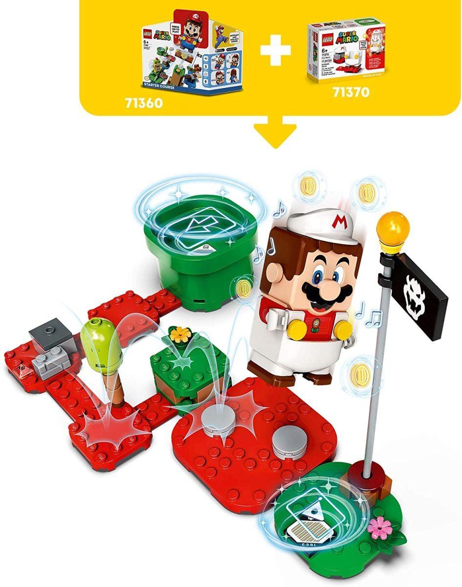 レゴ スーパーマリオ 71370 ファイアマリオ パワーアップ パック LEGO Super Mario_画像4