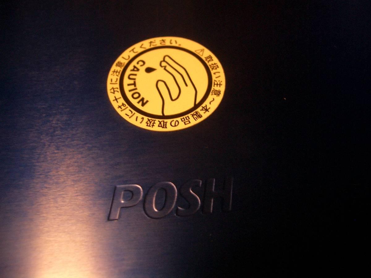 POSH 中古ナンバープレートホルダー原付用_画像3
