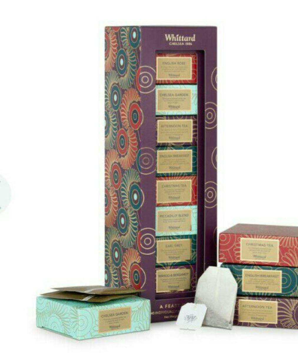 ウィッタード  紅茶 セット  Whittard 冬 8種類 40パック
