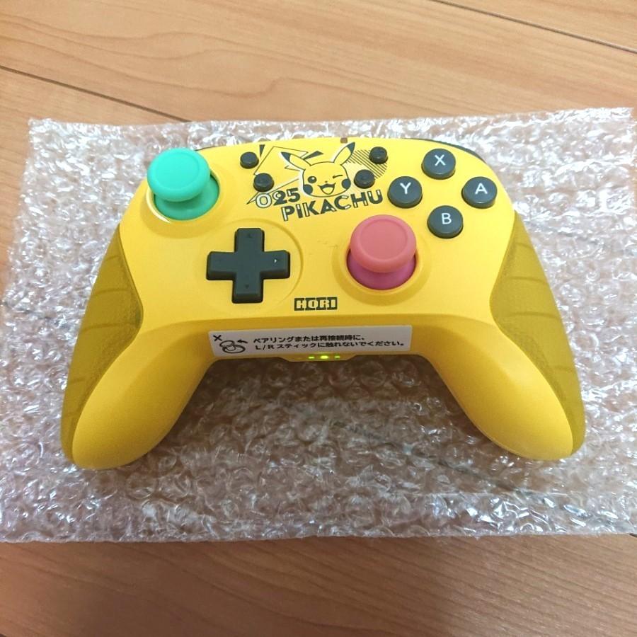 ワイヤレスホリパッド for Nintendo Switch ピカチュウ POP
