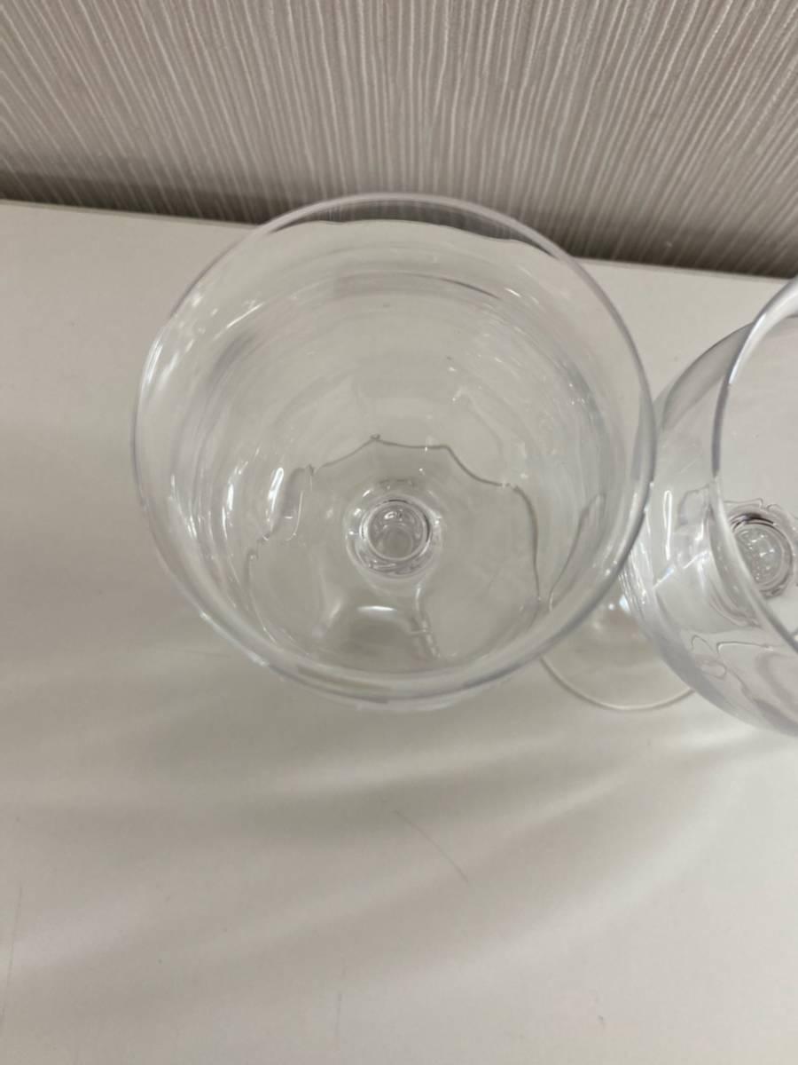 C-128R 1円スタート SASAKI CRYSTAL ササキクリスタル ワイングラス グラス 4本セット_画像5