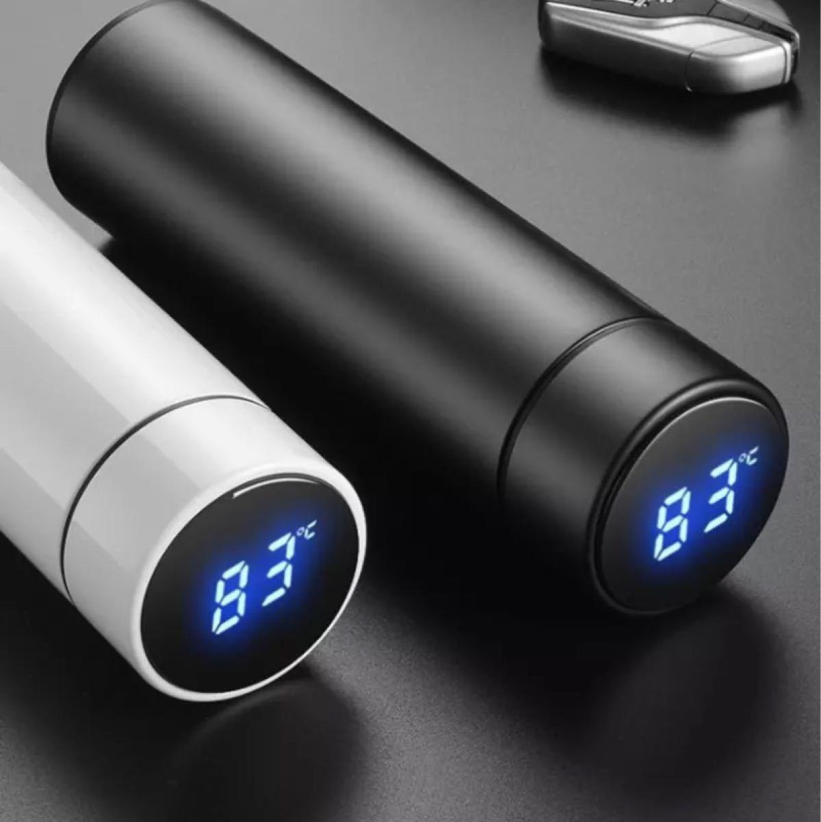保冷保温 温度計付き 水筒