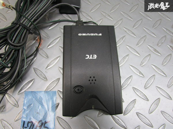 保証付 FURUNO 古野電気 アンテナ分離型 ETC 車載器 FNK-M05T 動作確認済み 即納_画像2