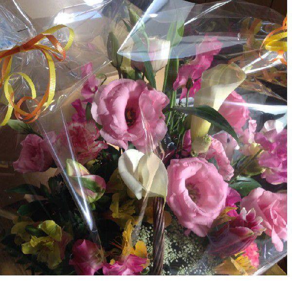 切り花アレンジ贈り物用:送料無料ギフト:(最低発注単位1)_画像4