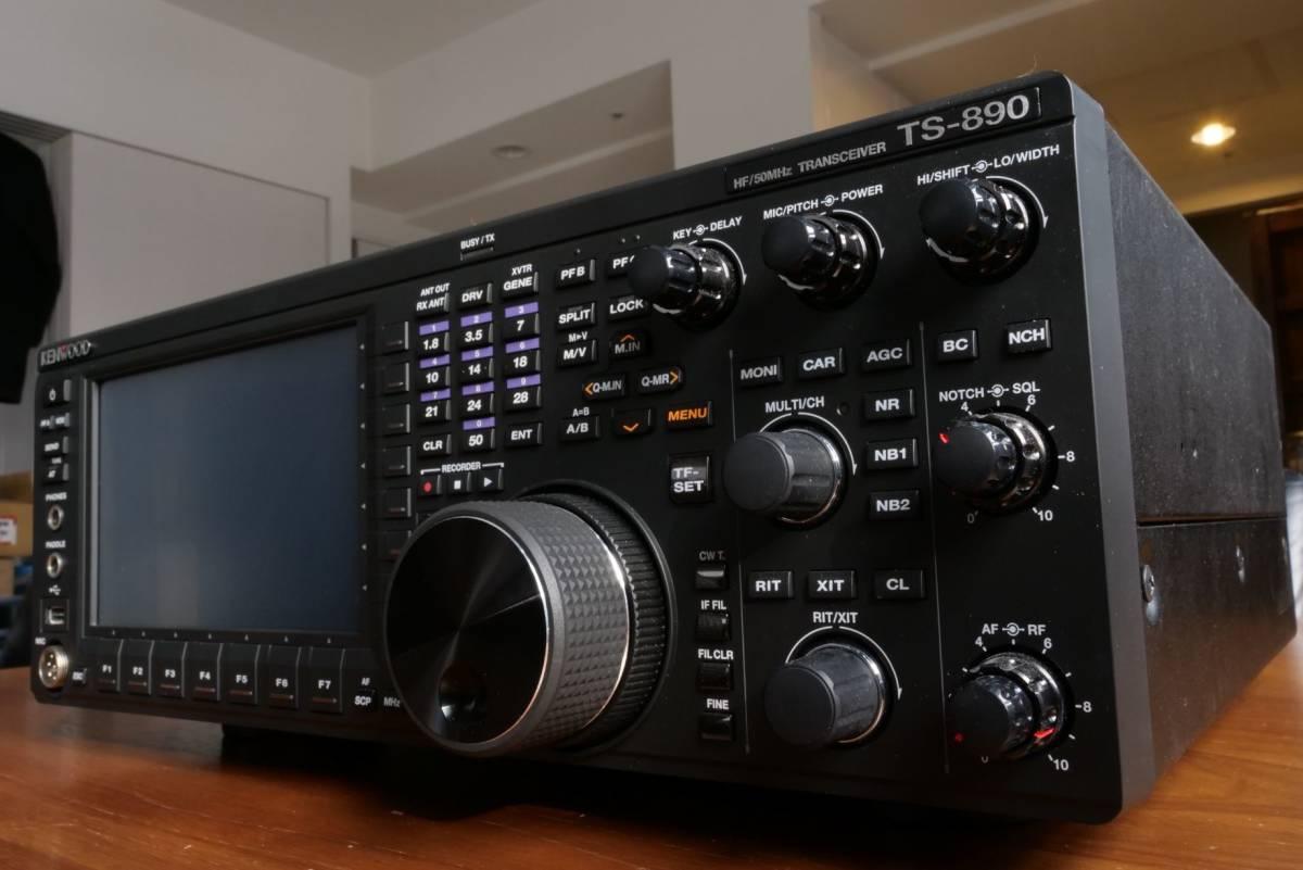 1円オークション、売り切り!! KENWOOD TS-890S 完動品、元箱、取説他、一式つき