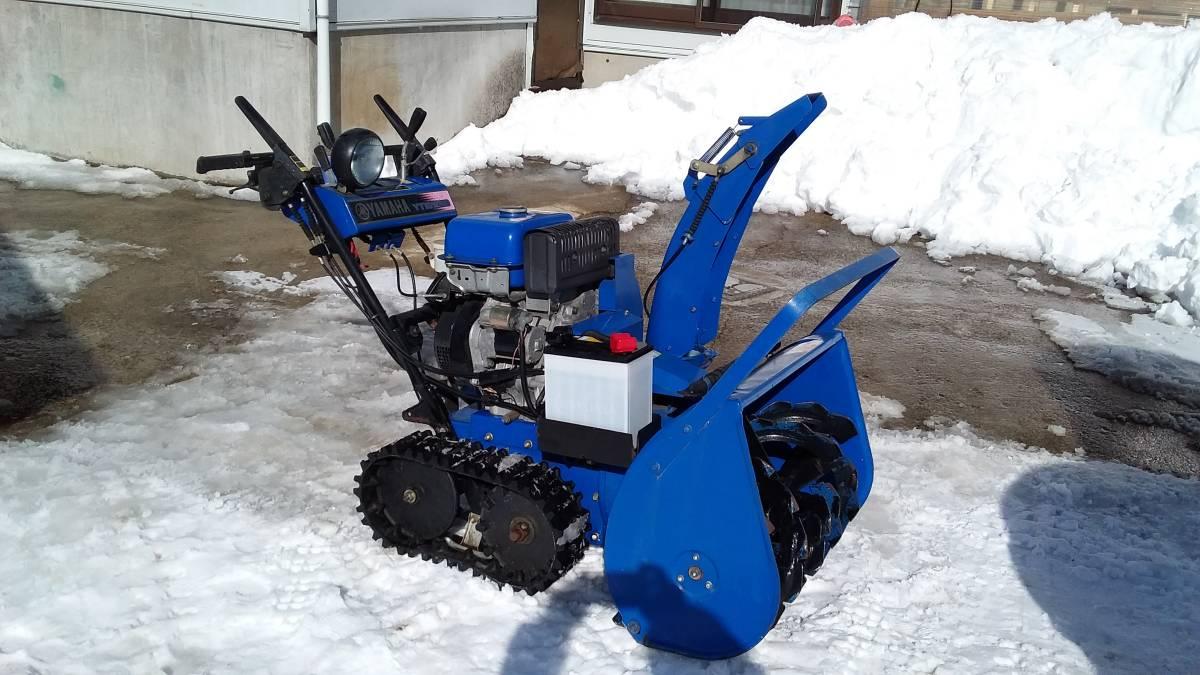 YAMAHA ヤマハ YT1070ED 除雪機 小型 引き取り限定_画像1