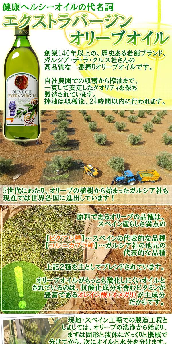 オリーブオイル 1L×15 ガルシアエクストラバージンオリーブオイル オレイン酸 オメガ9 スペイン産 _画像2