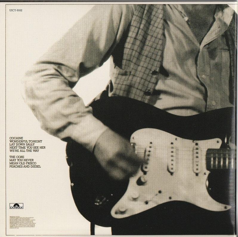 【中古・紙ジャケ・美品】Eric Claption / Slowhand (国内盤・帯付き, デジタル・リマスター, 初回生産限定, 1977年作品)_画像2