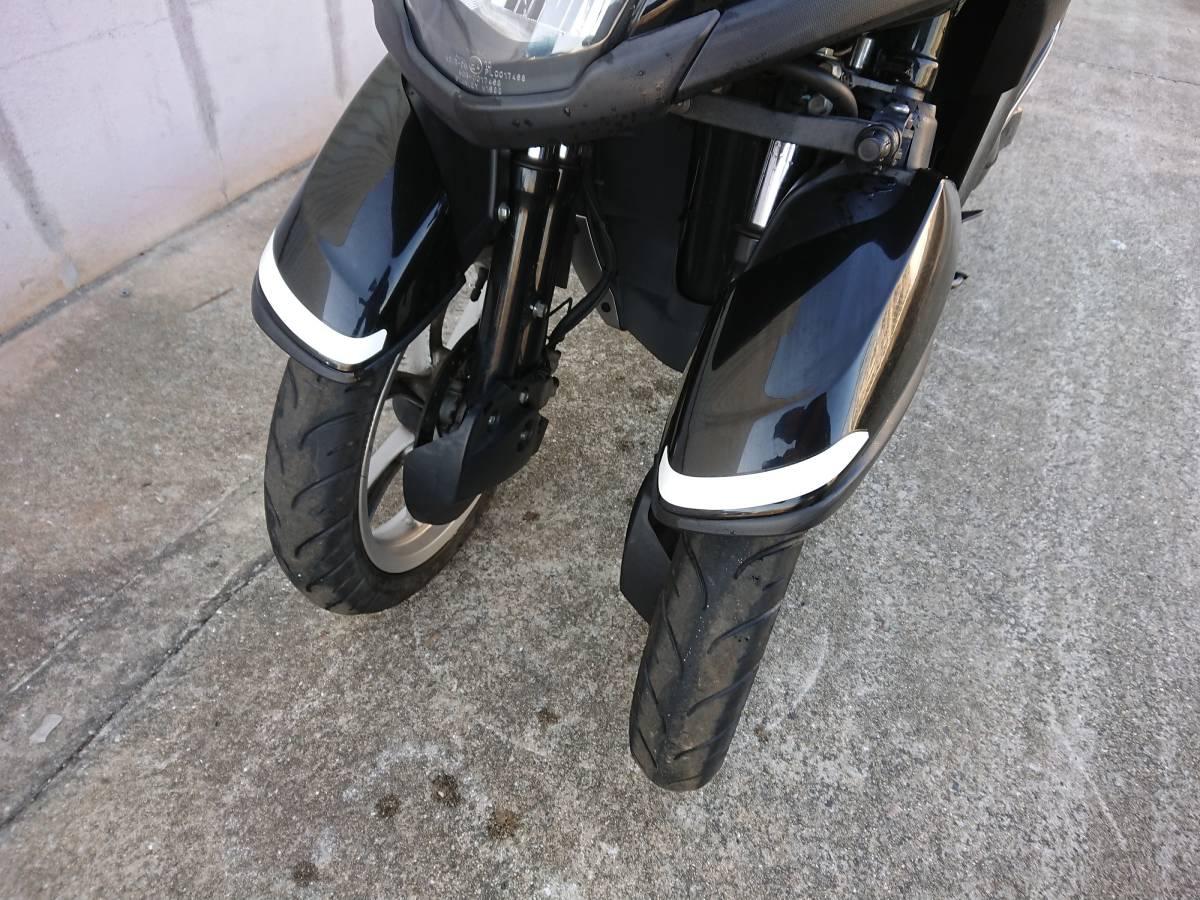 トリシティ125 SE82J ブラック_画像5