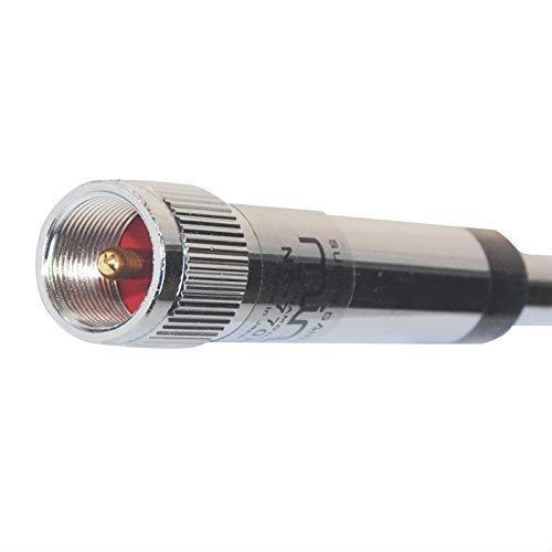 EasyTalk NR-770R モービル 用 アンテナ 車載 144/430MHz ハイゲイン レピーター対応 全長98cm 2バンド アマチュア 無線_画像3