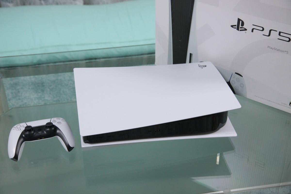 【開封済・未通電】送料込 日本製 説明文必須 PS5 本体 CFI-1000A01 ディスクドライブ搭載モデル / PlayStation5 プレイステーション5 SONY