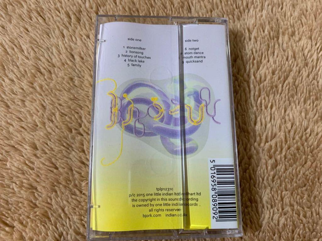 新品未開封 ビョーク BJORK Vulnicura ヴァルニキュラ 輸入盤 限定盤 カセットテープ 送料無料_画像2