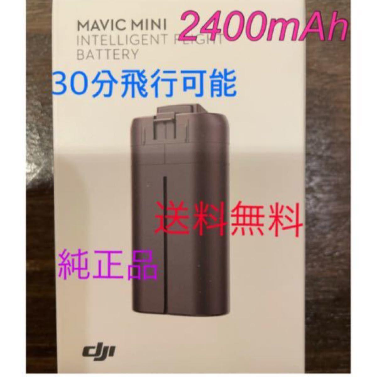 Mavic mini 、DJI mini 2400mAh 海外バッテリー