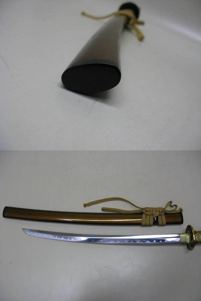 日本刀 模造刀 脇差 美品_画像5