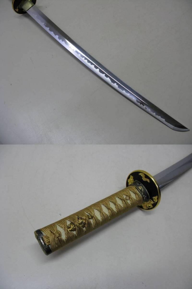 日本刀 模造刀 脇差 美品_画像8