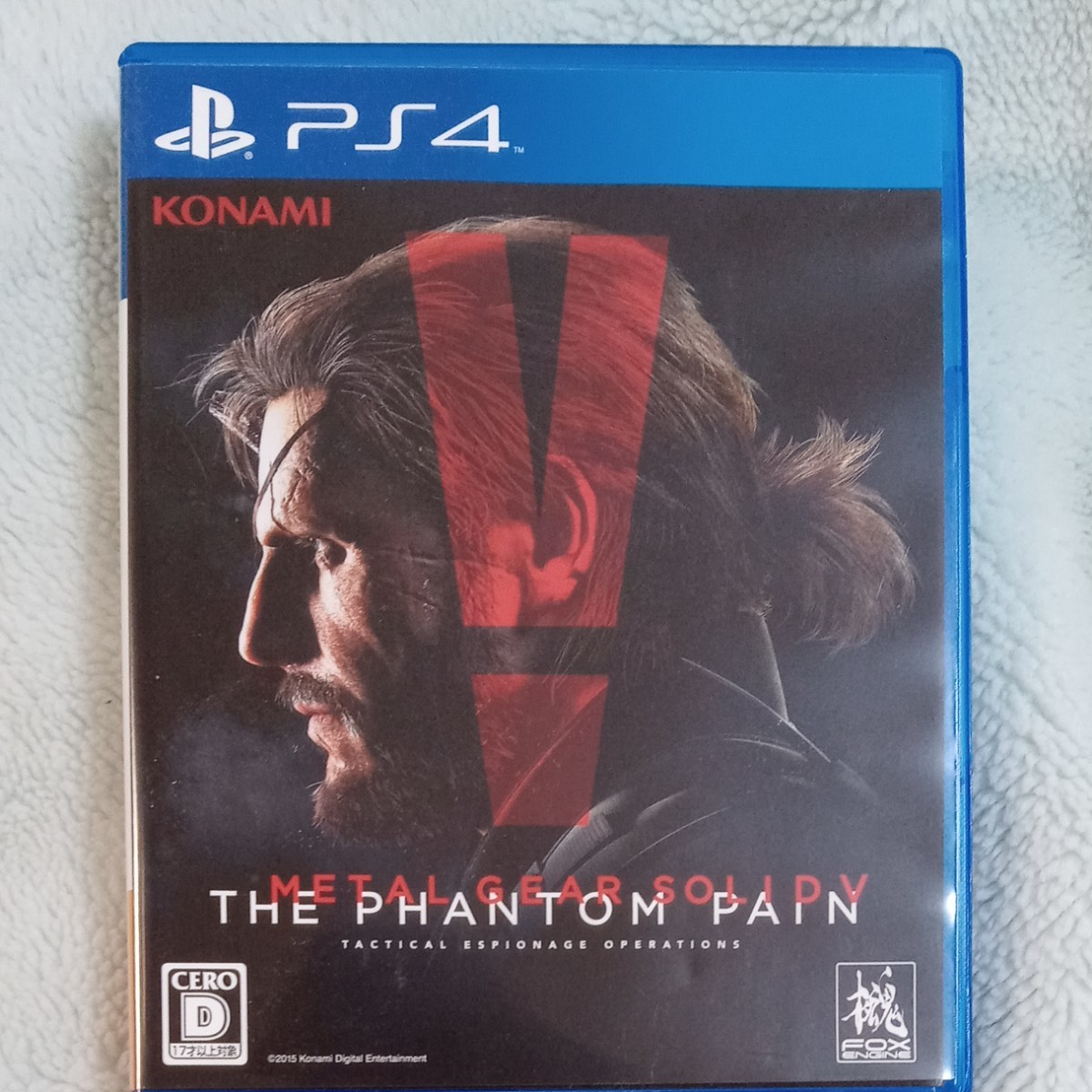 PS4ソフト メタルギアソリッド5ファントムペイン METAL GEAR SOLID V THE PHANTOM PAIN
