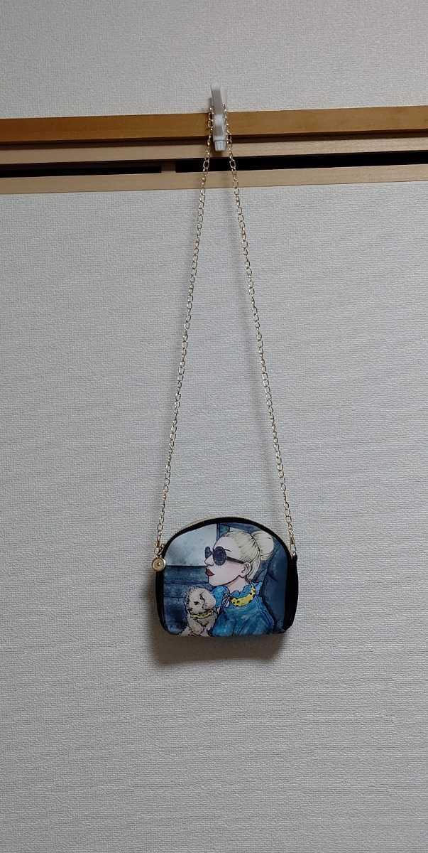 レディース ショルダーバッグ クラッチバッグ ポシェット ポーチ ハンドバッグ 財布 携帯 収納 アート 韓国 オルチャン マザーズバッグ