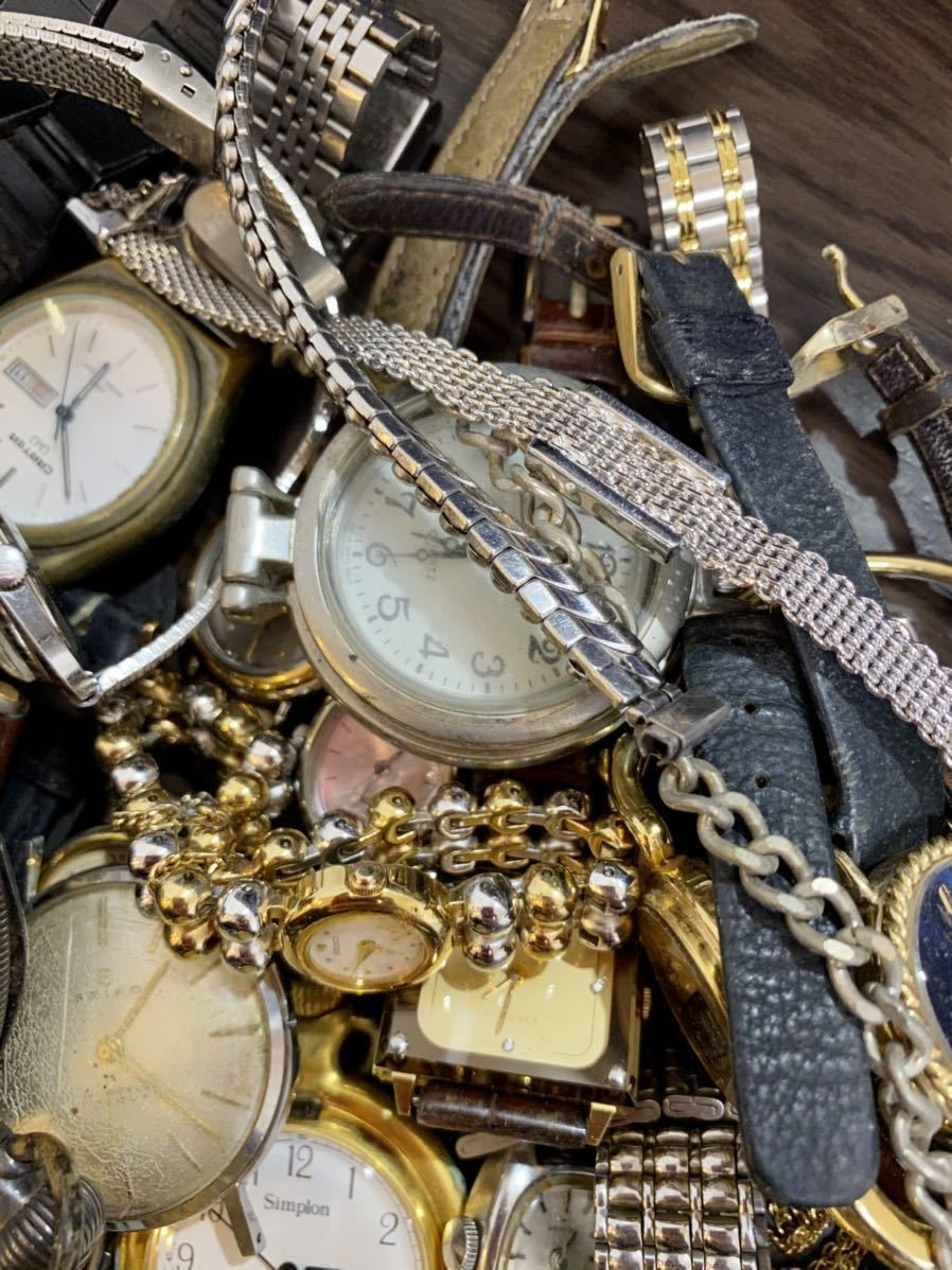 1円 時計 山 まとめ ロンジン シルバー 925 懐中時計 セイコー モバードなど 29本 腕時計 ジャンク_画像5