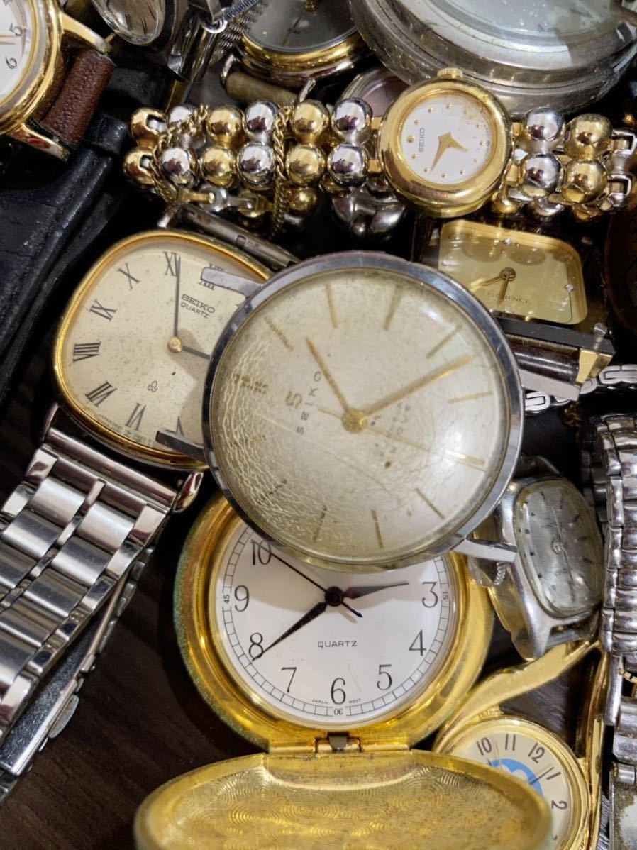 1円 時計 山 まとめ ロンジン シルバー 925 懐中時計 セイコー モバードなど 29本 腕時計 ジャンク_画像7