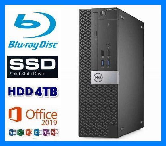 i7-6700K(4.2G×8)◆超大容量メモリ32GB◆新品SSD 1TB◆新品HDD 4TB◆ブルーレイ 再生/記録◆USB3.0◆Wi-Fi(無線)◆Win10◆MS Office2019_画像1