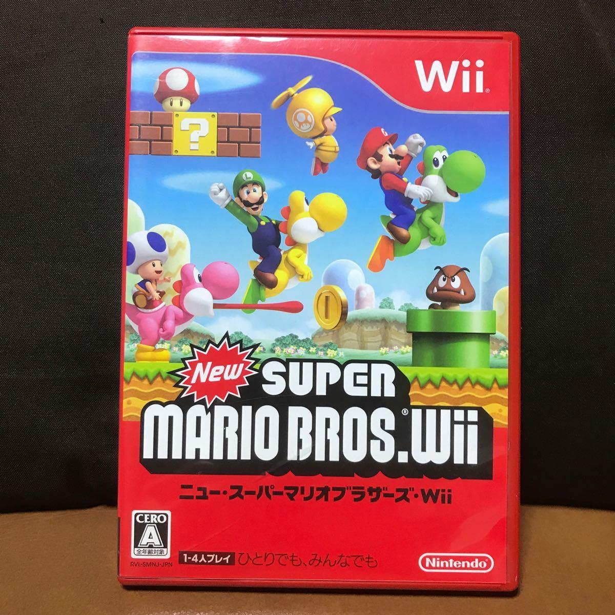 New スーパーマリオブラザーズ Wii Wii ニュースーパーマリオブラザーズ
