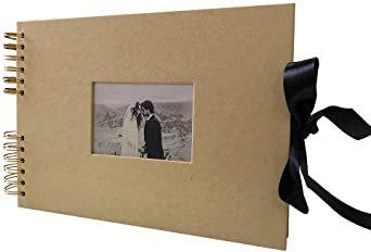 イエロー 手作り アルバム DIY 写真集 黒台紙40枚 スクラップブッキング 手作りフォトブック ラブメモリー 写真収納 結婚_画像7